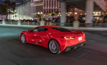 2020 Chevrolet Corvette Stingray (Color: Torch Red) Rear Three-Quarter Wallpapers 450x275 (31)