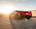 2020 Chevrolet Corvette Stingray (Color: Torch Red) Rear Three-Quarter Wallpapers 150x120 (27)