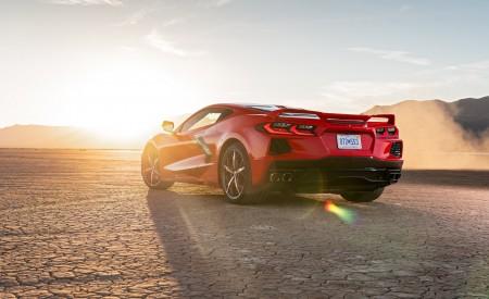 2020 Chevrolet Corvette Stingray (Color: Torch Red) Rear Three-Quarter Wallpapers 450x275 (27)