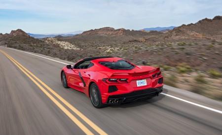2020 Chevrolet Corvette Stingray (Color: Torch Red) Rear Three-Quarter Wallpapers 450x275 (17)