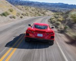 2020 Chevrolet Corvette Stingray (Color: Torch Red) Rear Wallpapers 150x120 (18)