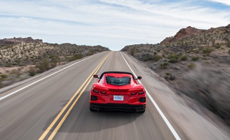 2020 Chevrolet Corvette Stingray (Color: Torch Red) Rear Wallpapers 450x275 (19)