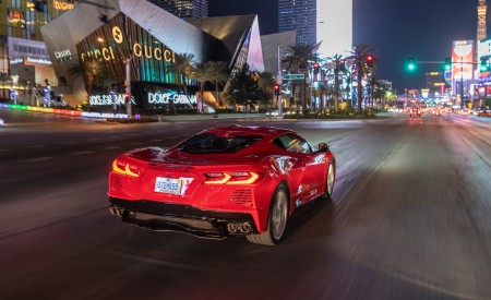 2020 Chevrolet Corvette Stingray (Color: Torch Red) Rear Wallpapers 450x275 (32)