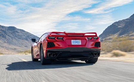 2020 Chevrolet Corvette Stingray (Color: Torch Red) Rear Wallpapers 450x275 (20)