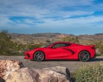 2020 Chevrolet Corvette Stingray (Color: Torch Red) Side Wallpapers 150x120 (28)