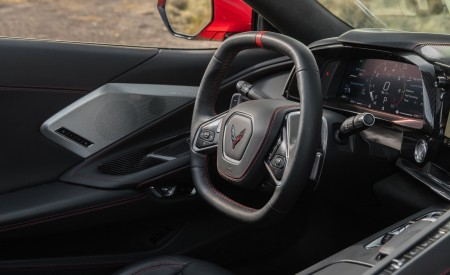 2020 Chevrolet Corvette Stingray Interior Steering Wheel Wallpapers 450x275 (36)