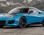 2020 Lotus Evora GT (Color: Cyan Blue) Front Three-Quarter Wallpapers 150x120 (2)