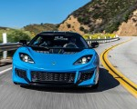 2020 Lotus Evora GT (Color: Cyan Blue) Front Wallpapers 150x120 (1)