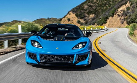 2020 Lotus Evora GT (Color: Cyan Blue) Front Wallpapers 450x275 (1)