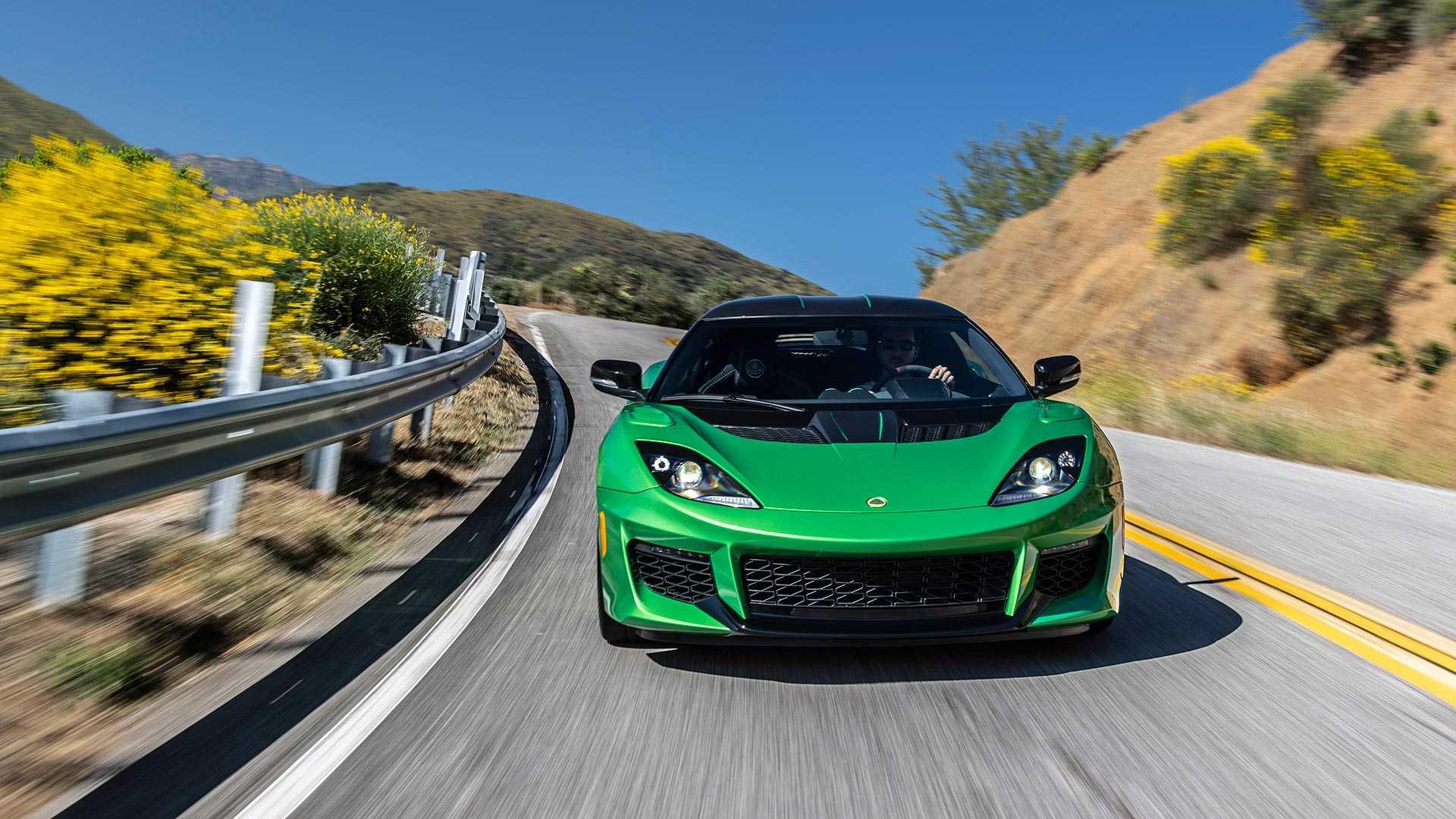 2020 Lotus Evora GT (Color: Vivid Green) Front Wallpapers (7)