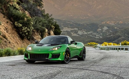 2020 Lotus Evora GT (Color: Vivid Green) Front Wallpapers 450x275 (8)