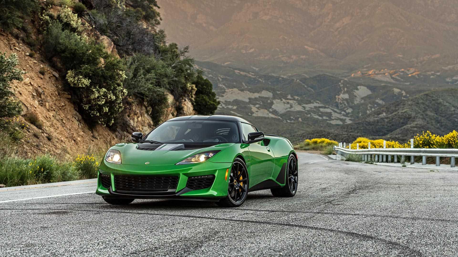 2020 Lotus Evora GT (Color: Vivid Green) Front Wallpapers (8)