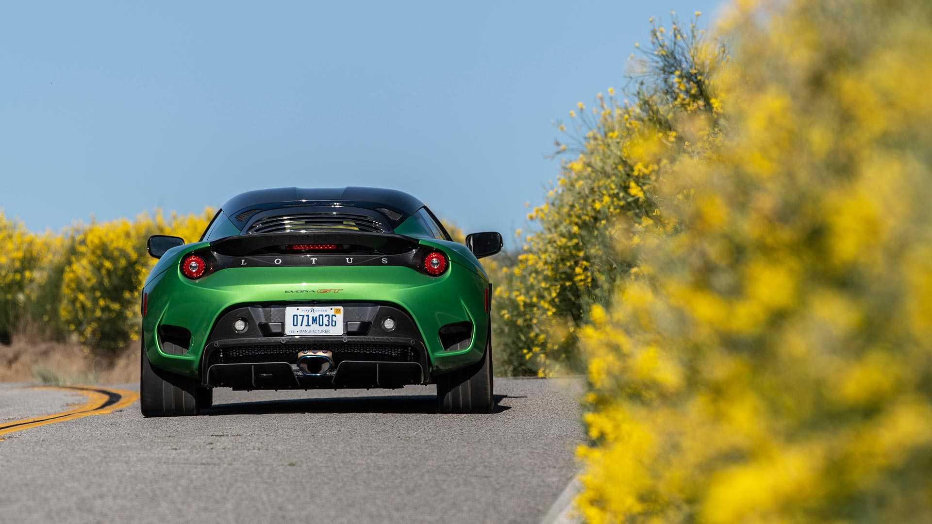 2020 Lotus Evora GT (Color: Vivid Green) Rear Wallpapers (9)