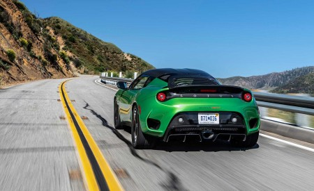 2020 Lotus Evora GT (Color: Vivid Green) Rear Wallpapers 450x275 (10)