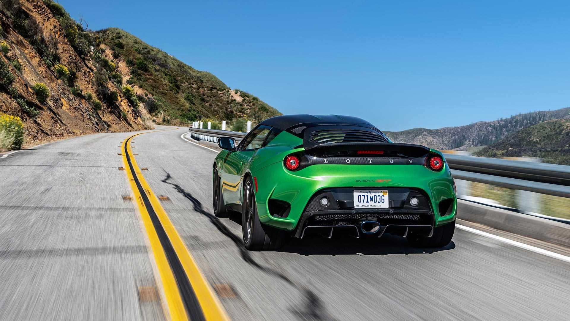 2020 Lotus Evora GT (Color: Vivid Green) Rear Wallpapers (10)
