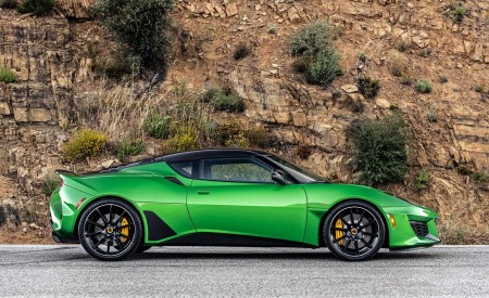 2020 Lotus Evora GT (Color: Vivid Green) Side Wallpapers 450x275 (11)