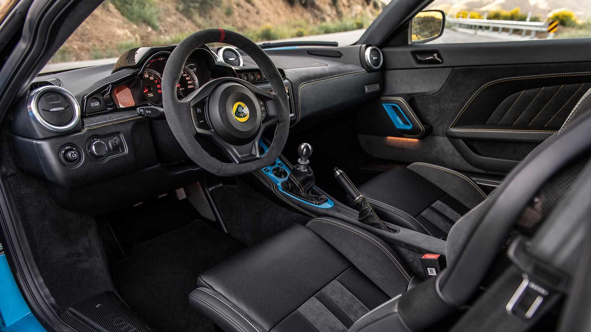 2020 Lotus Evora GT Interior Wallpapers (5)