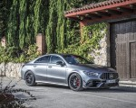 2020 Mercedes-AMG CLA 45 (Color: Designo Mountain Gray Magno) Front Three-Quarter Wallpapers 150x120 (40)