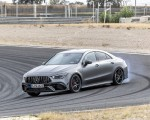 2020 Mercedes-AMG CLA 45 (Color: Designo Mountain Gray Magno) Front Three-Quarter Wallpapers 150x120 (19)