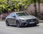 2020 Mercedes-AMG CLA 45 (Color: Designo Mountain Gray Magno) Front Three-Quarter Wallpapers 150x120 (30)