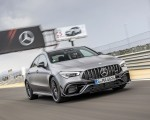 2020 Mercedes-AMG CLA 45 (Color: Designo Mountain Gray Magno) Front Three-Quarter Wallpapers 150x120 (21)