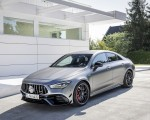 2020 Mercedes-AMG CLA 45 (Color: Designo Mountain Gray Magno) Front Three-Quarter Wallpapers 150x120 (33)