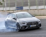 2020 Mercedes-AMG CLA 45 (Color: Designo Mountain Gray Magno) Front Three-Quarter Wallpapers 150x120 (23)