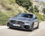 2020 Mercedes-AMG CLA 45 (Color: Designo Mountain Gray Magno) Front Wallpapers 150x120 (34)
