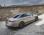 2020 Mercedes-AMG CLA 45 (Color: Designo Mountain Gray Magno) Rear Three-Quarter Wallpapers 150x120 (44)