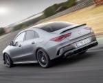 2020 Mercedes-AMG CLA 45 (Color: Designo Mountain Gray Magno) Rear Three-Quarter Wallpapers 150x120 (25)