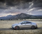 2020 Mercedes-AMG CLA 45 (Color: Designo Mountain Gray Magno) Side Wallpapers 150x120 (39)