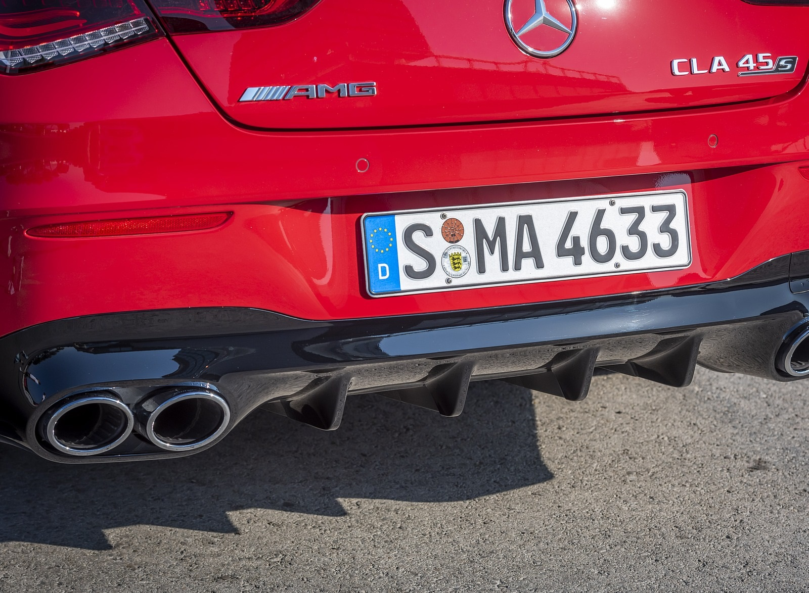 2020 Mercedes-AMG CLA 45 (Color: Jupiter Red) Exhaust Wallpapers (12)