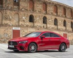 2020 Mercedes-AMG CLA 45 (Color: Jupiter Red) Front Three-Quarter Wallpapers 150x120 (5)