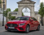 2020 Mercedes-AMG CLA 45 (Color: Jupiter Red) Front Three-Quarter Wallpapers 150x120 (4)