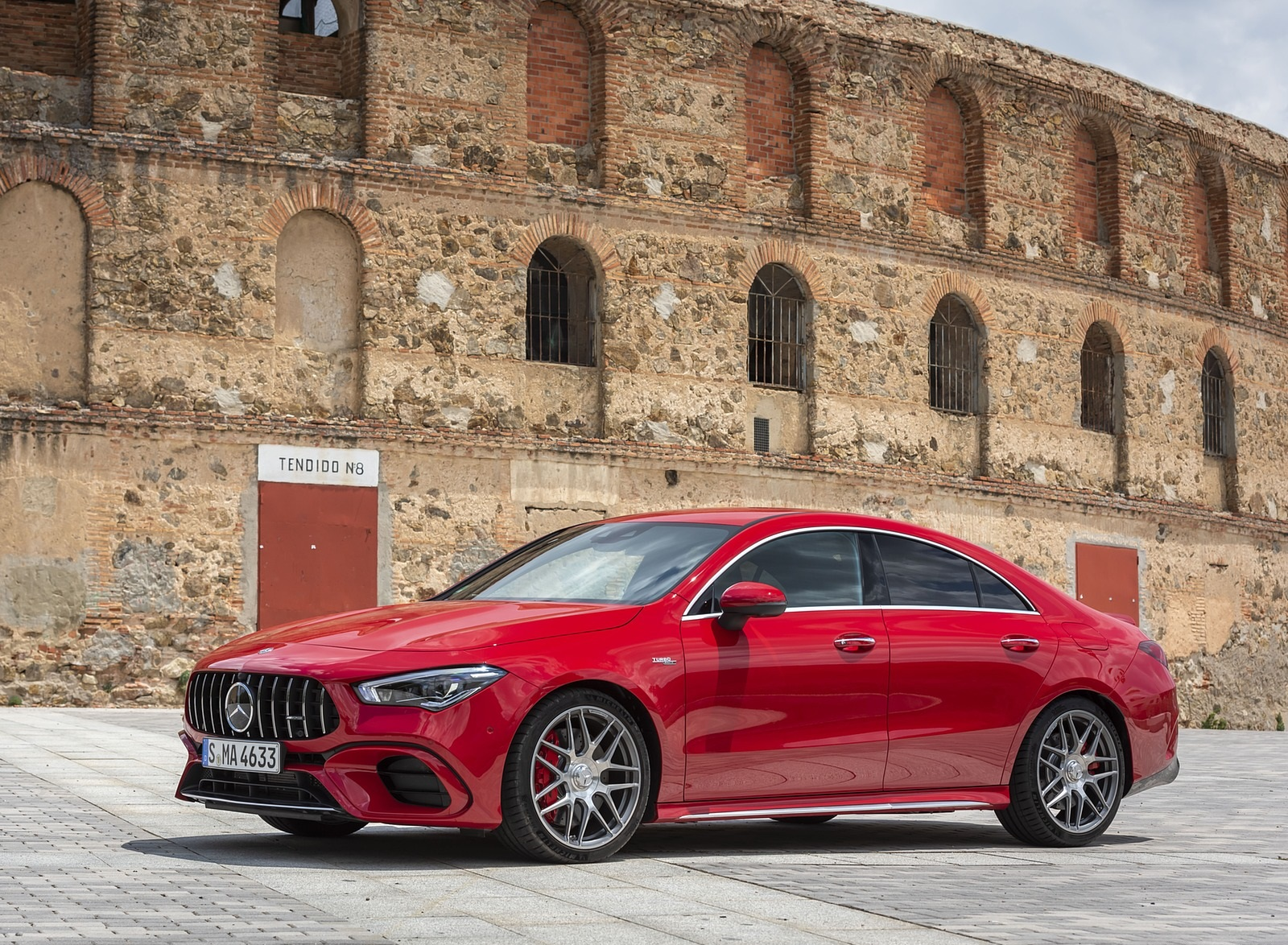2020 Mercedes-AMG CLA 45 (Color: Jupiter Red) Front Three-Quarter Wallpapers (5)
