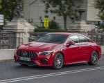2020 Mercedes-AMG CLA 45 (Color: Jupiter Red) Front Three-Quarter Wallpapers 150x120 (2)