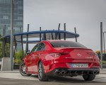 2020 Mercedes-AMG CLA 45 (Color: Jupiter Red) Rear Three-Quarter Wallpapers 150x120 (8)