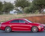 2020 Mercedes-AMG CLA 45 (Color: Jupiter Red) Side Wallpapers 150x120 (3)