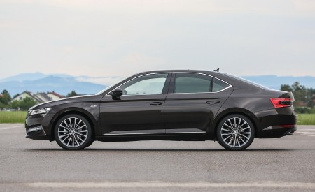 2020 Skoda Superb Laurin & Klement Side Wallpapers 450x275 (27)