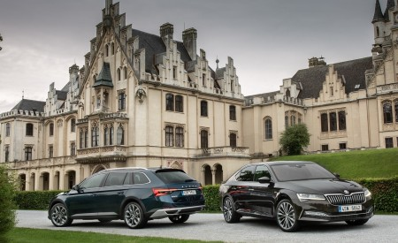 2020 Skoda Superb Laurin & Klement and Superb Scout Wallpapers 450x275 (28)