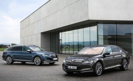 2020 Skoda Superb Laurin & Klement and Superb Scout Wallpapers 450x275 (29)