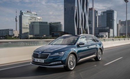 2020 Skoda Superb Scout Front Three-Quarter Wallpapers 450x275 (3)