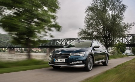 2020 Skoda Superb Scout Front Wallpapers 450x275 (13)
