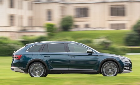 2020 Skoda Superb Scout Side Wallpapers 450x275 (6)