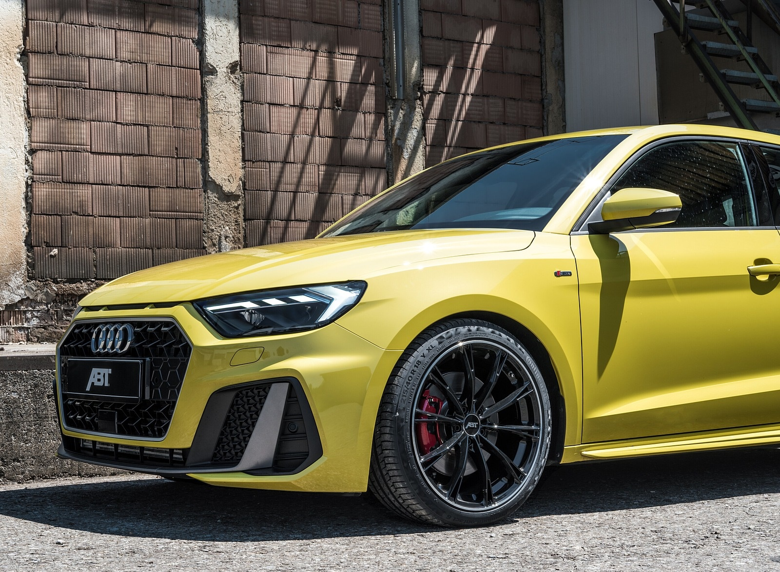 2019 ABT Audi A1 Front Bumper Wallpapers (7)