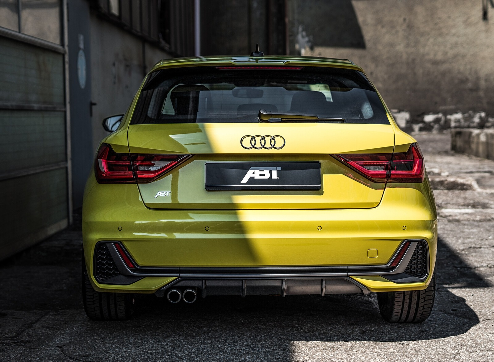 2019 ABT Audi A1 Rear Wallpapers (3)