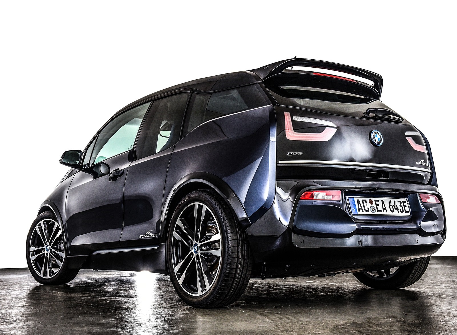 2019 AC Schnitzer BMW i3 Rear Three-Quarter Wallpapers (9)