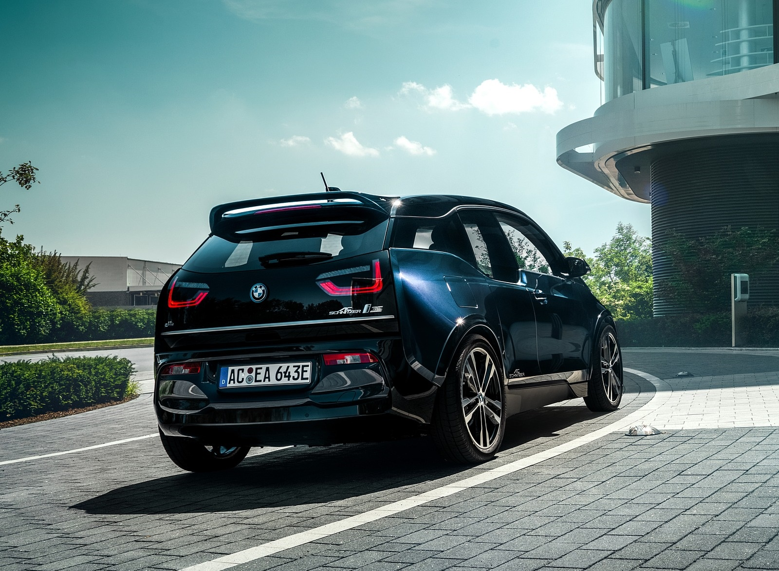 2019 AC Schnitzer BMW i3 Rear Three-Quarter Wallpapers (2)