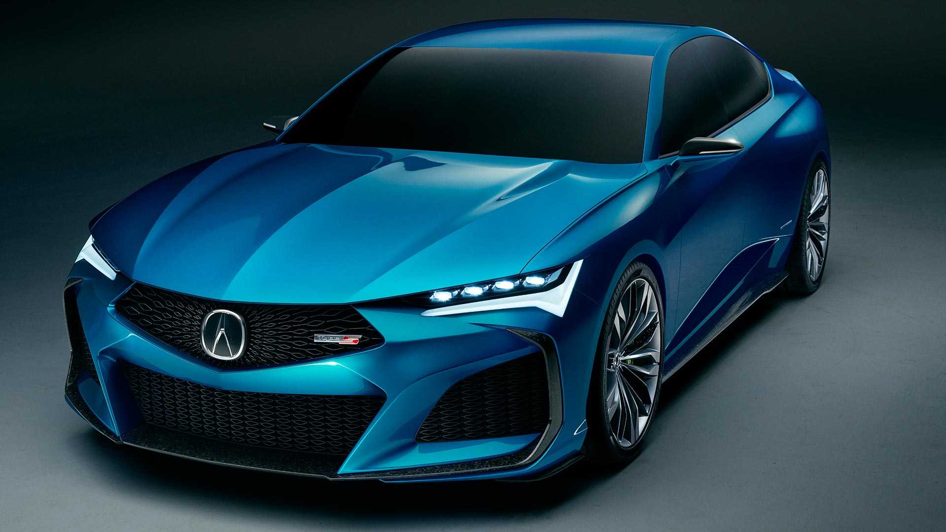 2019 Acura Type S Concept Front Three-Quarter Wallpapers (1)