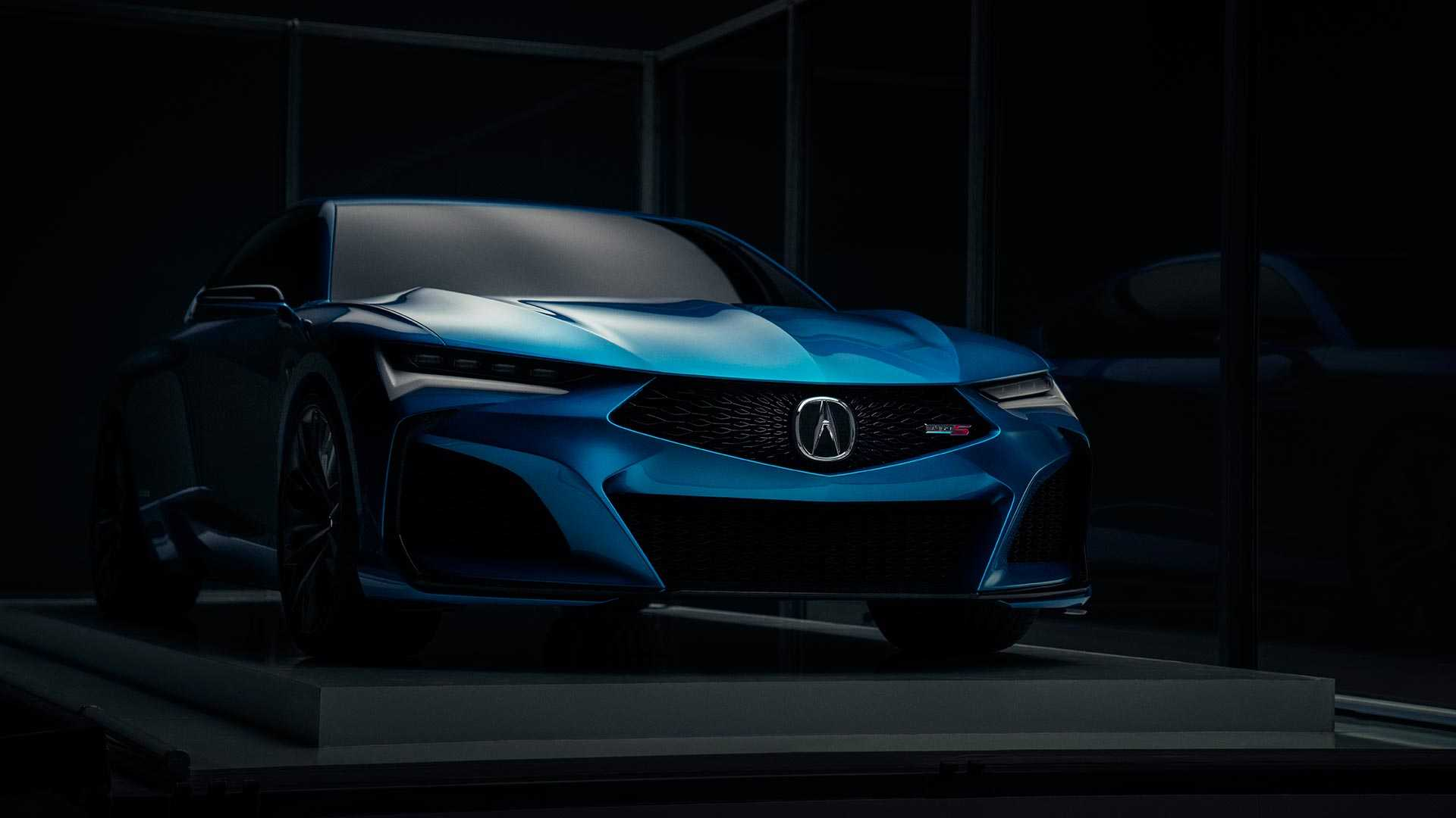 2019 Acura Type S Concept Front Three-Quarter Wallpapers (2)